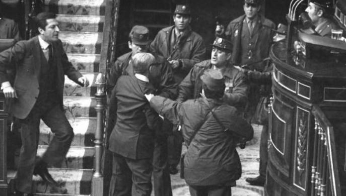 40 aniversario del fallido golpe de Estado del 23 de febrero de 1981 en España