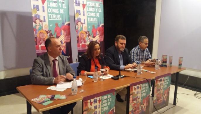 Grandes nombres de la literatura se darán cita en la 'premiere' de las ferias del libro nacionales en Teruel